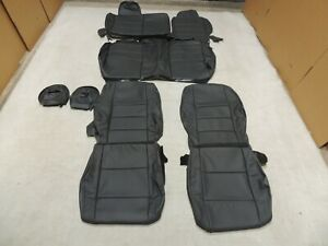 Leather Seat Covers Alea Interior Fits 2007-2009 Dodge Caliber SXT RT Grey I19