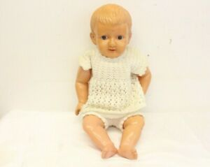 """Vintage VERY OLD LARGE Size 20"""" Celluloid Baby Doll"""