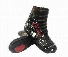 Stivali Minimoto Bimbo in Pelle Con Protezioni TG 31 32 34 35 36 37 38 39