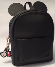 PRIMARK DISNEY MICKEY MOUSE EARS BLACK RUCKSACK BACKPACK - Brand New