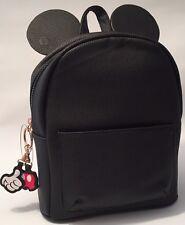 Primark Disney Mickey Mouse Orecchie Nera Zaino Backpack-Nuovo di Zecca