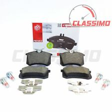 Rear Brake Pads for VW VOLKSWAGEN GOLF Mk 4 5 & 6 + SCIROCCO - 255mm rear discs