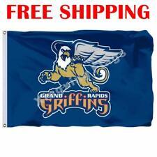 Grand Rapids Griffins Logo Flag AHL American Hockey League 2018 Banner 3X5 ft