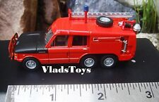 Oxford Military 1/76 Land Rover Fire & Crash Rescue Mark 2 Pink Panther 76TAC003