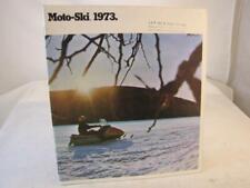 VINTAGE  MOTO-SKI SNOWMOBILE AND ACCESORIES CATALOG 1973
