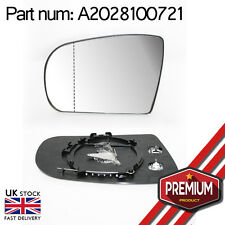 Heated Mirror Glass Left Side Wide Angle For Mercedes E Class W210