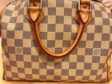 Louis Vuitton Damier Azur Speedy 25 Bag