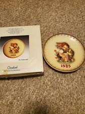 "Hummel 1985 Annual Plate ""Chick Girl"" Hum 278"