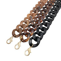 60cm DIY Acrylic Resin Detachable Replacement Shoulder Strap Bag Handbag Chain