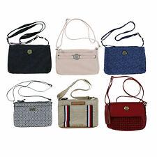 Tommy Hilfiger Womens Crossbody Purse Adjustable Straps Shoulder Bag Logo New