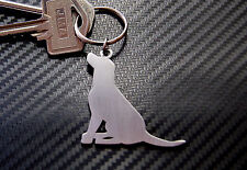 LABRADOR RETRIEVER DOG BREED Keyring Keychain Key Stainless Steel