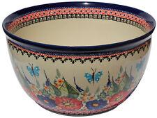 Polish Pottery Mixing Bowl 5 Qt. GU986-149ar Zaklady