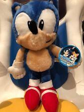 1998 Felpa Raro Sonic The Hedgehog oficial Sega japonés etiquetado