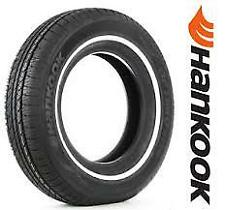 4 New P205/75R15 Hankook H724 70,000 Mile Warranty White Wall