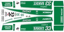 Harry Gant Skoal Bandit Indy Cart 1987 1/64th HO Scale Slot Car WATERSLIDE DECAL