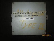 94 95 Acura Legend Abs, Tcs Control #39900-Sp0-A01 *See item description*