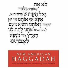 NEW AMERICAN HAGGADAH BOOK BY FOER, JONATHAN SAFRAN BRAND NEW
