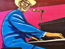 PINETOP PERKINS PRINT poster delta blues piano ladies man cd joined at the hip