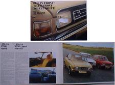 Austin Mini Allegro Maxi 1800 2200 1973-74 Original UK Sales Brochure No. 3035