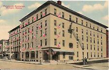 Penobscot Exchange Hotel Bangor ME Postcard