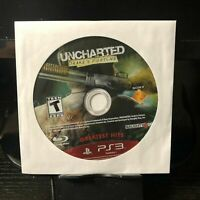Sony PlayStation 3 PS3   Uncharted Drake's Fortune   Game Disc Only