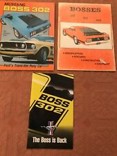 New listing Mustang Boss 302 Fords Trans Am Pony Car + Bosses 302/351/429 Specs, Features