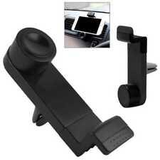 Soporte de Rejilla Aire para Archos BlackBerry Ventilacion Coche Stand Negro Bla