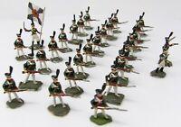 Vintage Hinchliffe, Minifigs & Similar 25mm. Napoleonic Russian Grenadiers x 28