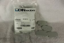 Dinnectors DN-QEC12 end covers, QTY of 50