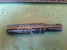Vintage P.S. Olt Regular Goose Call Model L-22 Pekin, Illinois Olt's