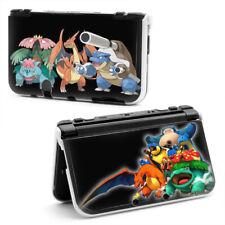 CARCASA FUNDA PROTECTOR NINTENDO NEW 3DS XL / 3 DS POKEMON AZUL ROJO VERDE CASE