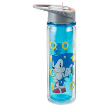 Sonic the Hedgehog 18 oz. Tritan Water Bottle Sega Genesis Game Children