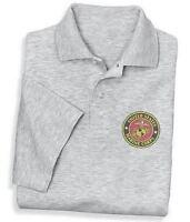 Polo Golf Shirt * US United States Marines USMC tshirt