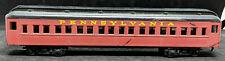 HOBBYLINE USA: Pennsylvania PULLMAN COACH Car. VINTAGE HO SCALE, DARK RED
