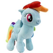 "RAINBOW DASH - My Little Pony 12"" Plush New (Friendship is Magic) Soft Plushie"