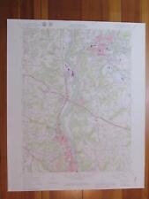 Beaver Falls Pennsylvania 1979 Original Vintage Usgs Topo Map