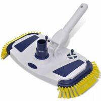 vidaXL Pool Vacuum Head Cleaner Brush Sweep Broom Swim Skimmer Accessories