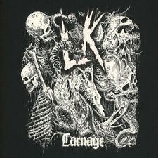 "Lik ""Carnage"" black vinyl LP [old school Death Metal from Sweden, new album '18]"