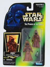 STAR WARS POWER OF FORCE JAWAS GLOWING EYES AND BLASTER PISTOL