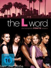THE L WORD, Season 5 (4 DVDs) NEU+OVP