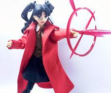 SH-TC-R: FIGLot 1/12 scale Red Long Coat for SHF Figma female Figure (No figure)