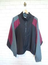 Vintage Shell Suit Jacket Top Festival Tracksuit Windbreaker 80s/90s XL #D5828