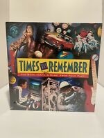 Vintage 1991 Times to Remember MB Board Game New Factory Sealed