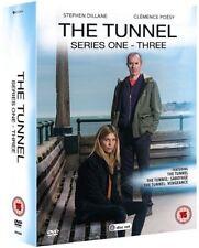 Le Tunnel série 1 To 3 Collection complète DVD NOUVEAU DVD (av3446)