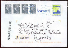 France 2012 Commercial Mail Cover #C33989