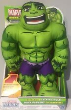 NEW Electronic Talking HULK Marvel Plush 30+ Sounds Phrases ENGLISH Incredible