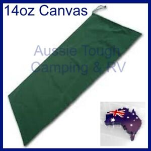 Canvas Tent Storage Bag Handy Bag - Large 120cm x 57cm Heavy Duty 14oz Canvas
