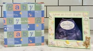 2001 ENESCO BABY  LOVE AT FIRST SIGHT ULSTRASOUND SONOGRAM FRAME