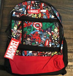 Bioworld Marvel Avengers Comic Backpack One Size