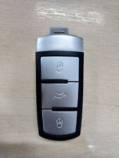 Volkswagen VW Passat B6 CC Chrome 3 Button Flip remote key fob case shell cover